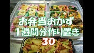 Download お弁当おかず 1週間分作り置き 【自家製冷食】 30 Video