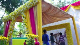 Download Haldi / Mehendi Wedding Decor @ Calicut by Yuvah Wedding Planners Video
