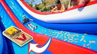 Download WATERSLIDE VS MOUSE TRAPS!!! Video