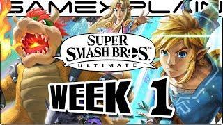 Download Super Smash Bros. Ultimate Update: WE'RE BACK BABY! Release Date, Squid Sisters, Newcomers! (Week 1) Video