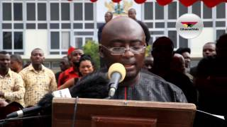 Download Dr. Bawumia weeps as he reads tribute to late aide, Kwabena Boadu Video