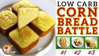 Download The BEST Low Carb Cornbread Recipe - EPIC CORN BREAD BATTLE - Testing 3 Keto Cornbread Recipes Video