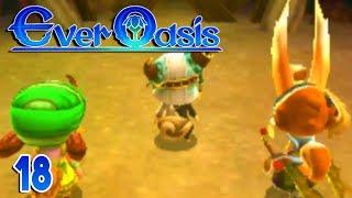 Download Ever Oasis Part 18 FORGOTTEN FOREST 3RD DUNGEON Gameplay Walkthrough Video