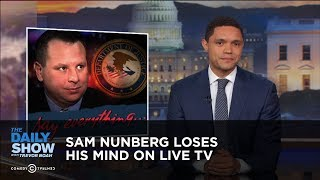 Download Sam Nunberg Loses His Mind on Live TV | The Daily Show Video
