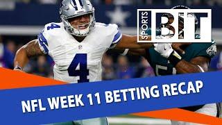 Download NFL Week 11 Betting Recap | Sports BIT | NFL Picks Video