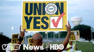 Download Nissan Workers In Mississippi Say No To Union (HBO) Video