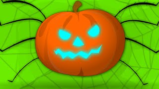 Download Incy WIncy Spider | Halloween Song | Scary Nursery Rhymes For Kids Video