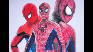 Download Speed Drawing all Spider man's (2002, 2012, 2017) Video