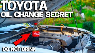 Download Toyota Oil Change SECRET Exposed Video