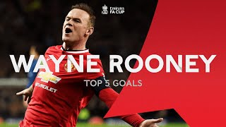 Download Wayne Rooney's Top 5 FA Cup Goals | From the Archive Video