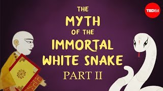 Download The Chinese myth of the white snake and the meddling monk - Shunan Teng Video