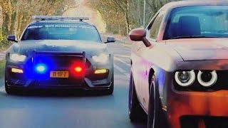 Download Street Racers VS Police FAIL & WIN BEST COMPILATION 2017 🚔 Video