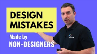 Download Learn the Most Common Design Mistakes by Non Designers Video