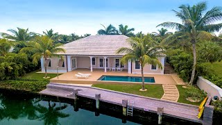 Download Casa Hibiscus | Old Fort Bay, Bahamas | Canalfront Home | Damianos Sotheby's International Realty Video