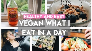 Download What I Eat in a Day (VEGAN on-the-go ideas) Healthy and Easy! Video