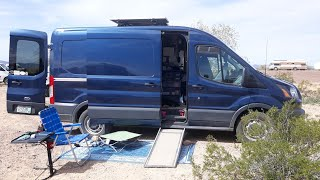 Download Retired Couple living and traveling and loving simplicity in their Ford Transit. Video