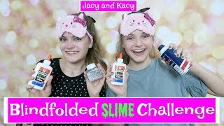 Download Blindfolded Slime Challenge ~ Jacy and Kacy Video