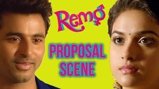 Download Remo - Proposal scene | Sivakarthikeyan | Keerthy Suresh | P. C. Sreeram Video