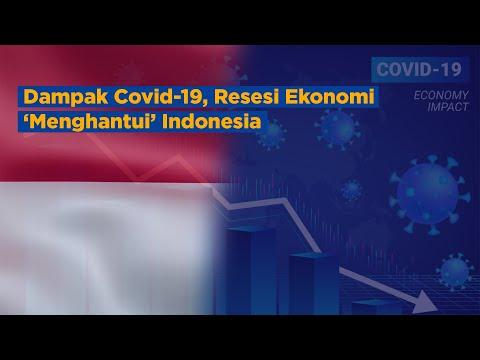 Dampak Covid-19, Resesi Ekonomi 'Menghantui' Indonesia