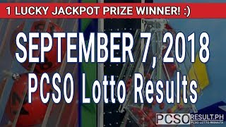 Download PCSO Lotto Results Today September 7, 2018 (6/58, 6/45, 4D, Swertres, STL & EZ2) Video