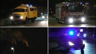Download [Scheunenbrand - Massive Rauchentwicklung] Einsatzfahrten der Feuerwehr Aachen zu Großeinsatz Video