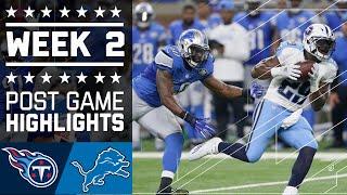 Download Titans vs. Lions | NFL Week 2 Game Highlights Video