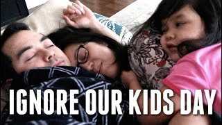 Download IGNORE OUR KIDS DAY - ItsJudysLife Vlogs Video