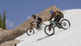 Download First Ever Mountain Bike Descent of Corbet's Couloir Video
