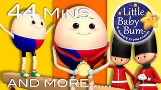 Download Humpty Dumpty | Part 3 | Plus Lots More Nursery Rhymes | 44 Minutes Compilation from Little Baby Bum Video