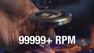 Download 99999+ RPM Fidget Spinner Toy Video