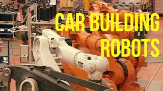 Download Car Building Robots production - KUKA Plant Video