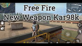 Download Free Fire - New Weapon - Kar98k Video