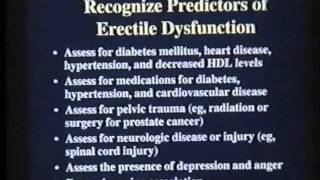 Download First Line Treatment for Erectile Dysfunction Video