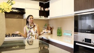 Download Indian Vlogger Soumali || How To Organise Small Kitchen || Kitchen Tour Video