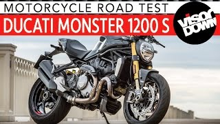 Download 2017 Ducati Monster 1200 S Review Road Test | Visordown Motorcycle Reviews Video