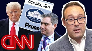 Download Why the battle for Jim Acosta's press badge was a big deal | With Chris Cillizza Video