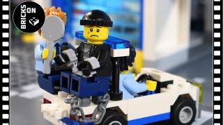 Lego Drone Atm Bank Robbery Heist Fail Lego City Police Brickfilm