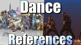 Download Overwatch Dance References [Side By Side Comparison] Video