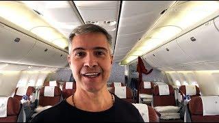 Download LATAM Classe Executiva no 767-300 | Joanesburgo - São Paulo Video