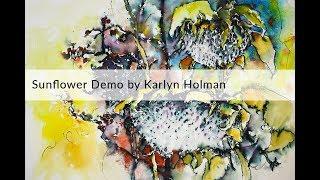 Download Sunflower demo by Karlyn Holman Video