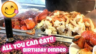 Download ORLANDO VLOG | ALL YOU CAN EAT SEAFOOD | BIRTHDAY DINNER Video