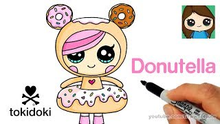 Download How to Draw Donutella Easy | Tokidoki Video