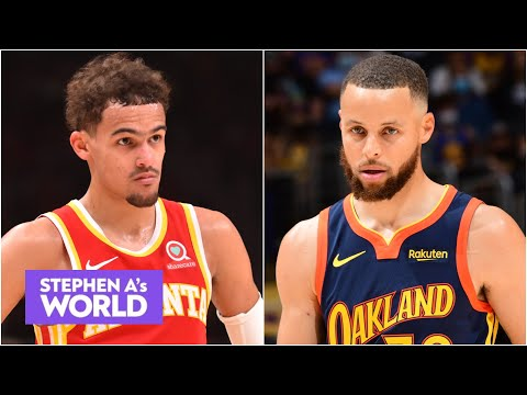 Can Trae Young be a better shooter than Steph Curry? 'Hell no' - Stephen A.   Stephen A.'s World