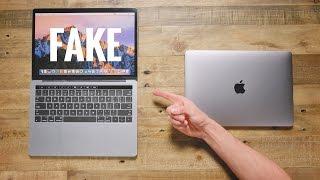 Download $50 Fake MacBook Pro vs $1,500 MacBook Pro Video