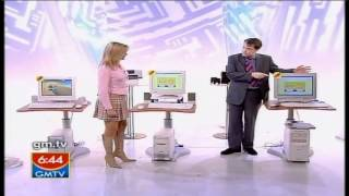 Download Penny Smith [GMTV] - Nips, Burberry short skirt, Spiked boots [2002]. Video