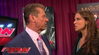 Download Stephanie confronts Mr. McMahon about Triple H: Raw, June 10, 2013 Video