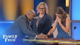Download GUYS, say THIS and you may never SPEAK AGAIN! | Family Feud Video