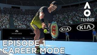 Download AO TENNIS | CAREER MODE #1 | FIRST MATCH! Video