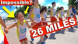 Download 8 YEAR OLD Attempts FULL MARATHON [AMAZING] Video