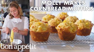 Download Molly Makes Cornbread Muffins with Honey Butter | From the Test Kitchen | Bon Appétit Video